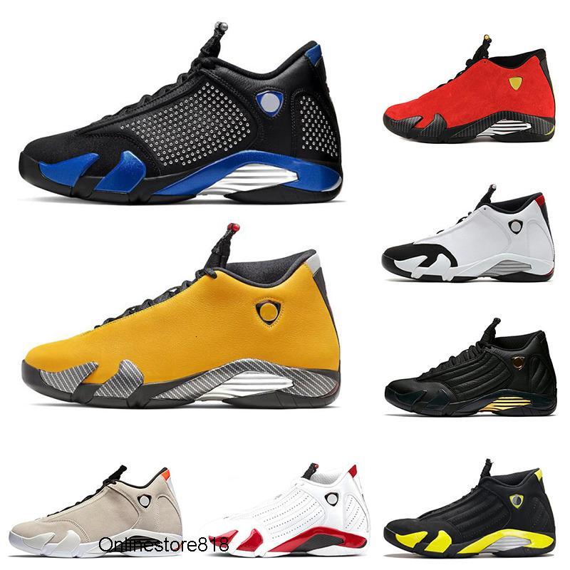 New Varsity Royal 14 14s Men Basketball Shoes Rip Hamilton University Red Last Shot Reverse Ferrar XIV Sports Sneakers size 7-13