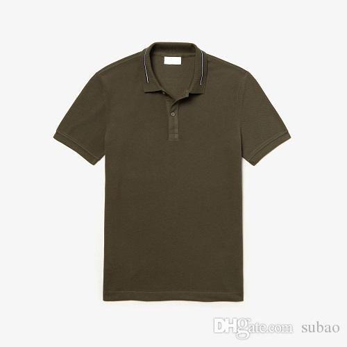 indirimli poloshirt erkekler Kısa Kollu T gömlek Marka Ücretsiz Büyük At Katı Kısa Kollu Yaz Erkek Polo gömlek Natio indirimli gönderim
