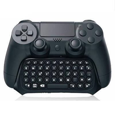 رسالة البسيطة بلوتوث اللاسلكية لوحة المفاتيح نص Chatpad محول لPS4 سليم برو لعبة وحدة تحكم غمبد نيتها إصدار قبضة 4 عينة الأسود