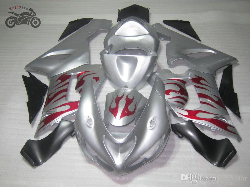 Kawasakia Ninja ZX6R 636 2005 2006 ZX-6R 6R 05 06 ZX 6Rオートバイボディフェアリングキット
