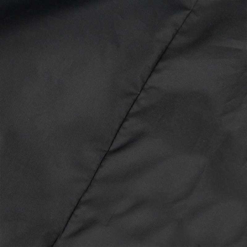 Meubles de jardin Coussin Sac de rangement robuste étanche Rectangle meubles Siège de protection Housse de coussin avec fermeture éclair Christma