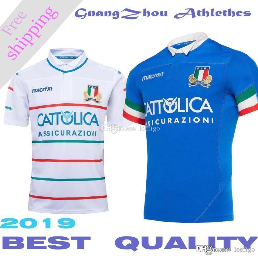 Nueva camiseta del equipo de rugby italiano 2019 local y visitante