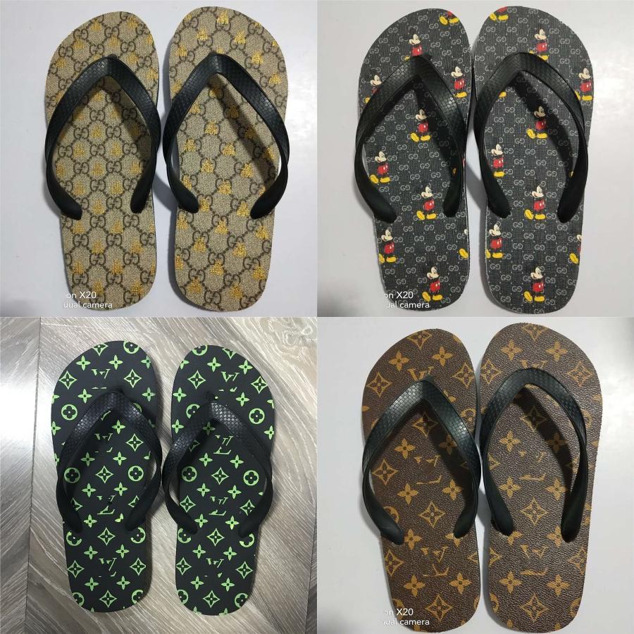 2020 Летний пляж сандалии женщин плоские сандалии Слайды Chaussures Femme засорить Плюс Размер 43 Повседневный Вьетнамки обувь женщина Z2 # 521