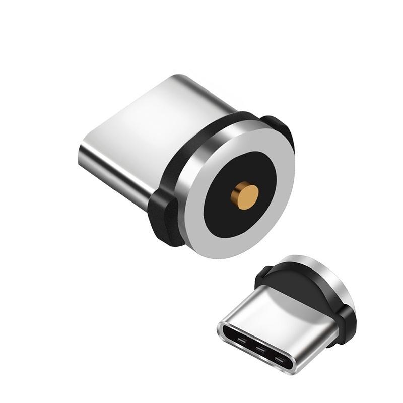 Магнитный кабель штекер типа C Micro USB C Заглушки быстрой зарядки телефона MicroUSB Type-C магнит штекер зарядного устройства