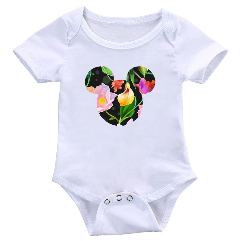 Neugeborene Jungen-Mädchen-nette Karikatur-Bodysuit Jumpsuits Onesies Säuglingskleinkind-weich Strampler