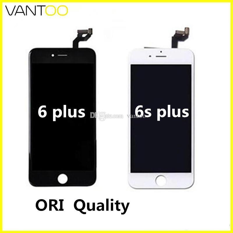 OEM الأصلي LCD ديسبالي للهاتف 6 6 ثانية 6 زائد 6 ثانية زائد مع شاشة تعمل باللمس محول الأرقام شحن مجاني بواسطة dhl