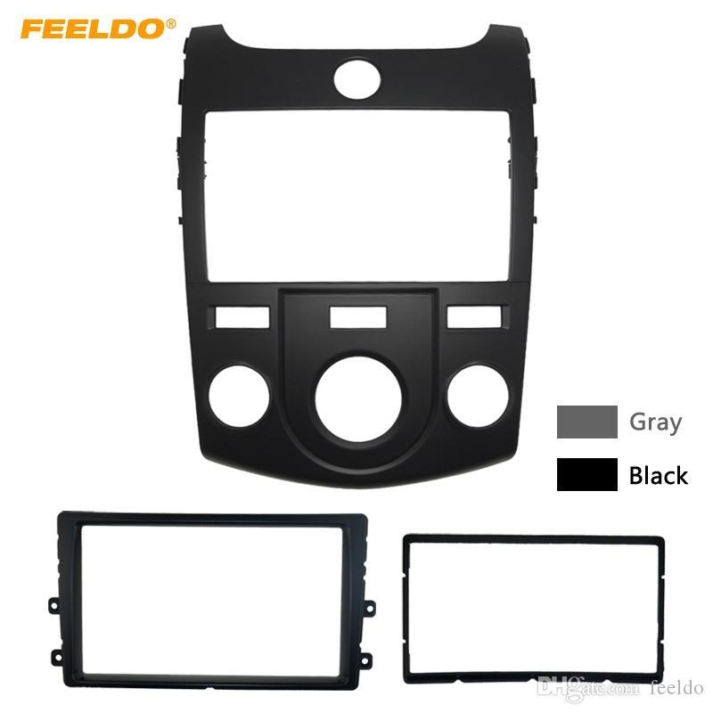 Комплект для установки лицевой панели автомобильной стереосистемы FEELDO для KIA Cerato / Forte / Naza Forte Ручная установка послепродажного обслуживания AC # 5748
