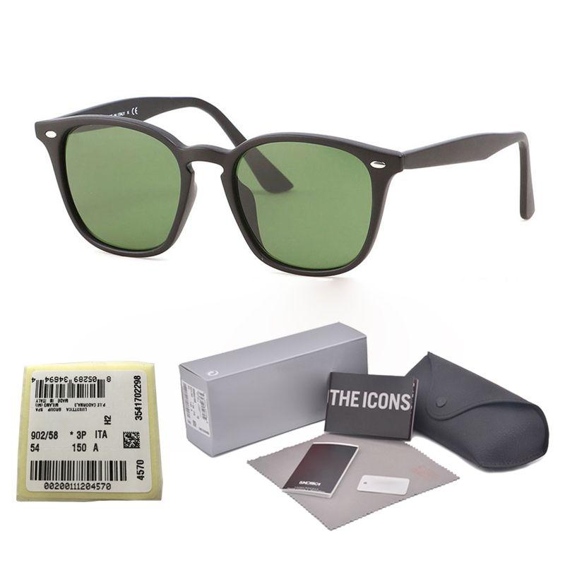 Top Quality Round Sunglasses Women Men Brand Designer Retro Sunglass Glass Lens Eyewear Mirror Glasses UV400 Female Male with Retail packagi