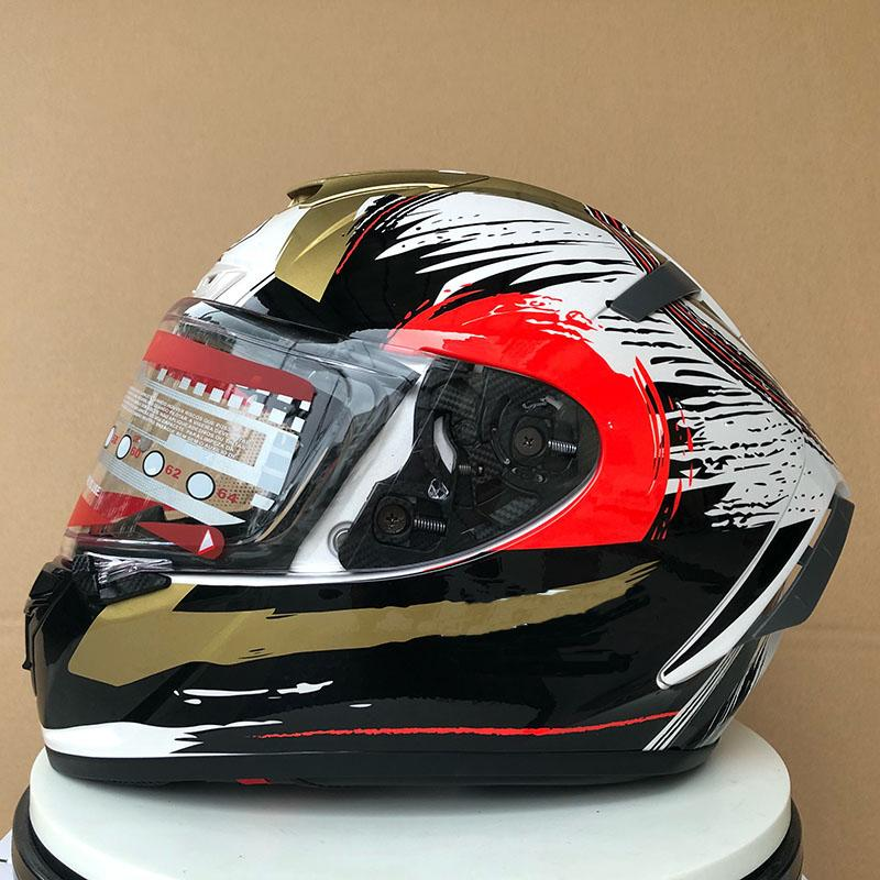 Racing Helmet DOT Clear Visor Motocross Off Road Touring Free shipping Full Face Motorcycle Helmet Professional