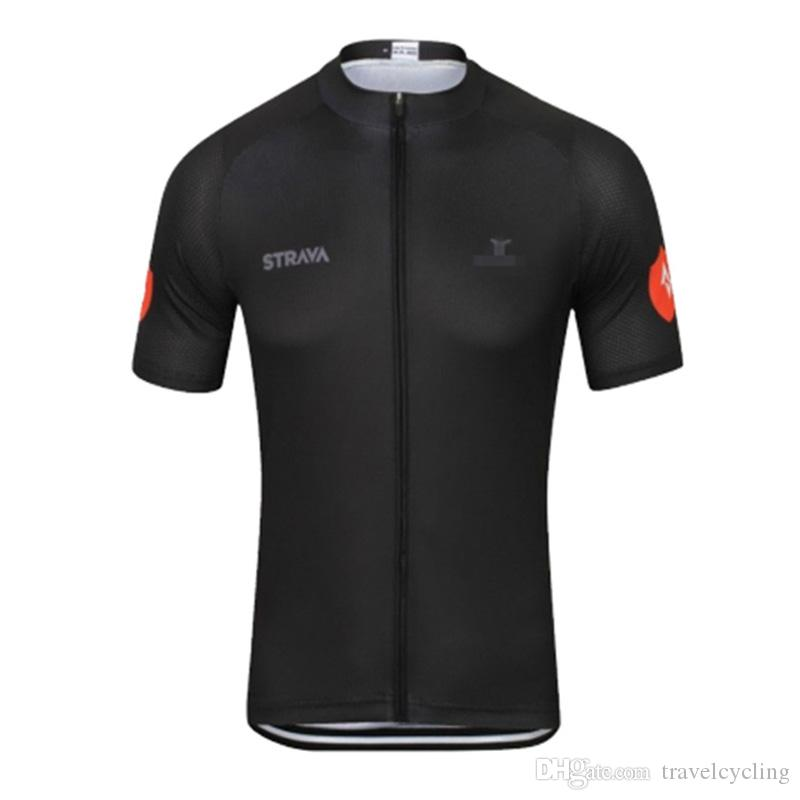 New mens Strava team Cycling Clothing MTB Bike tops road Bicycle Clothes summer quick dry Sports uniform Cycling Jersey Y032906