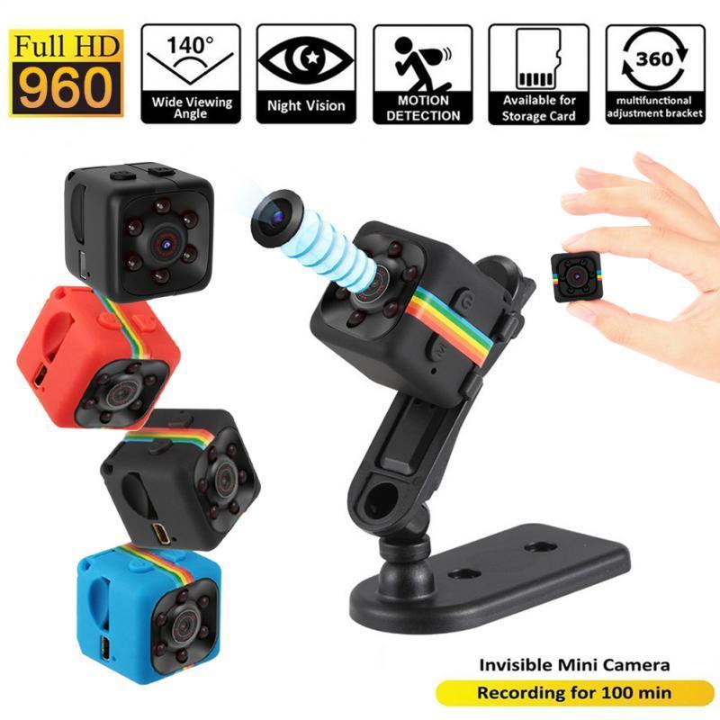 Mini Camera HD 1080P Sensor Night Vision Camcorder Motion DVR Micro Camera Sport DV Video Small Camera Cam Portable Web Micro Cameras Hide