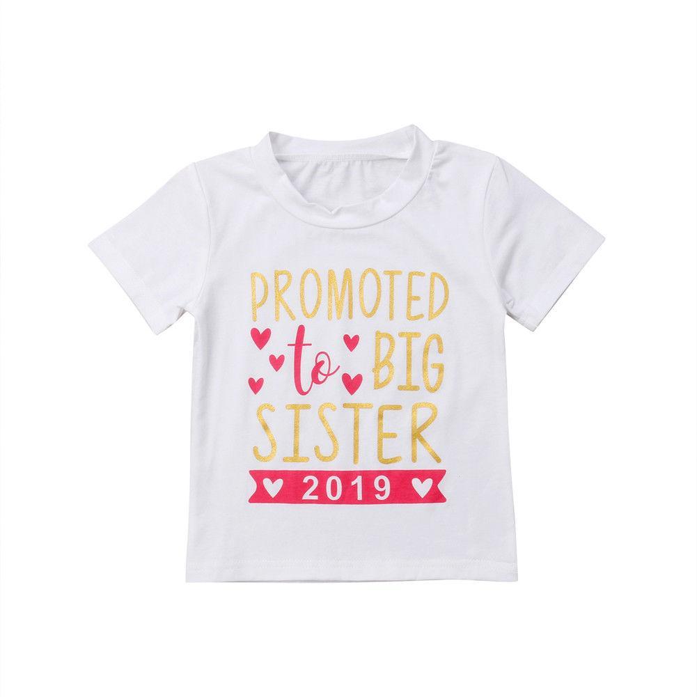 Infante appena nato bambini delle neonate T-shirt per bambini in cotone manica corta popolari estive O-collo della maglietta del T del bambino Camicie Tops Clothes
