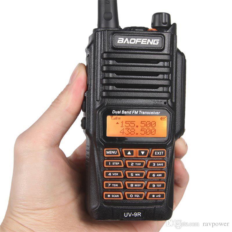 Baofeng UV-9R IP67 8W Long Range Walkie Talkie Radio Dual Band UV9R Portable