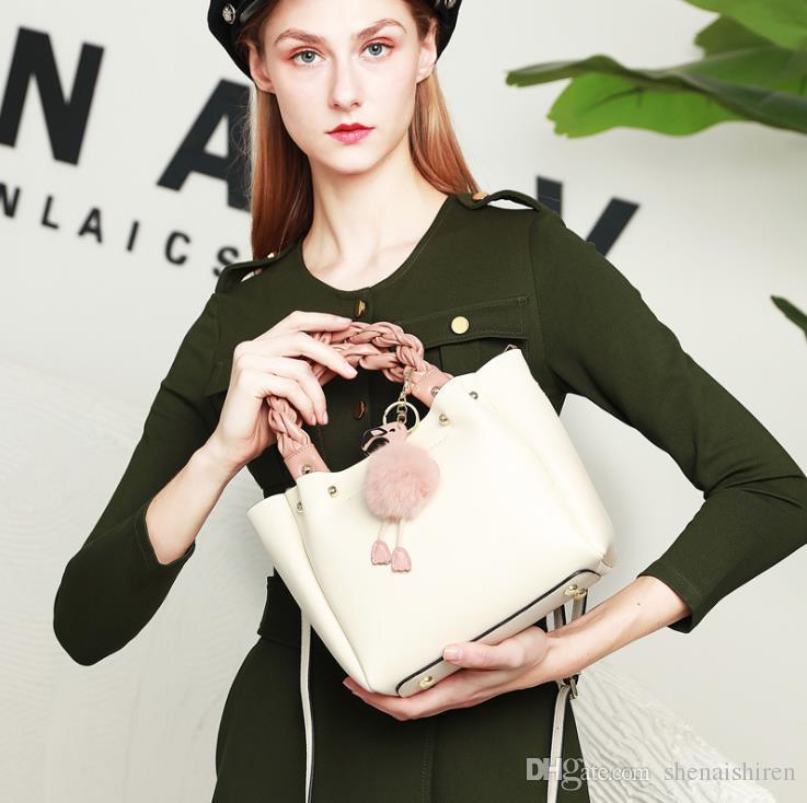 Bolsa de couro crossbody europeu e americana casual na moda nova bolsa de couro moda senhoras retro saco 2020 fêmea ombro jjoni