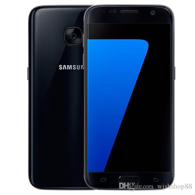"""Original Samsung Galaxy S7 G930F G930P G930V Quad Core 4GB RAM 32GB ROM 4G LTE 5.1"""" 12MP GPS desbloqueado remodelado Celular"""
