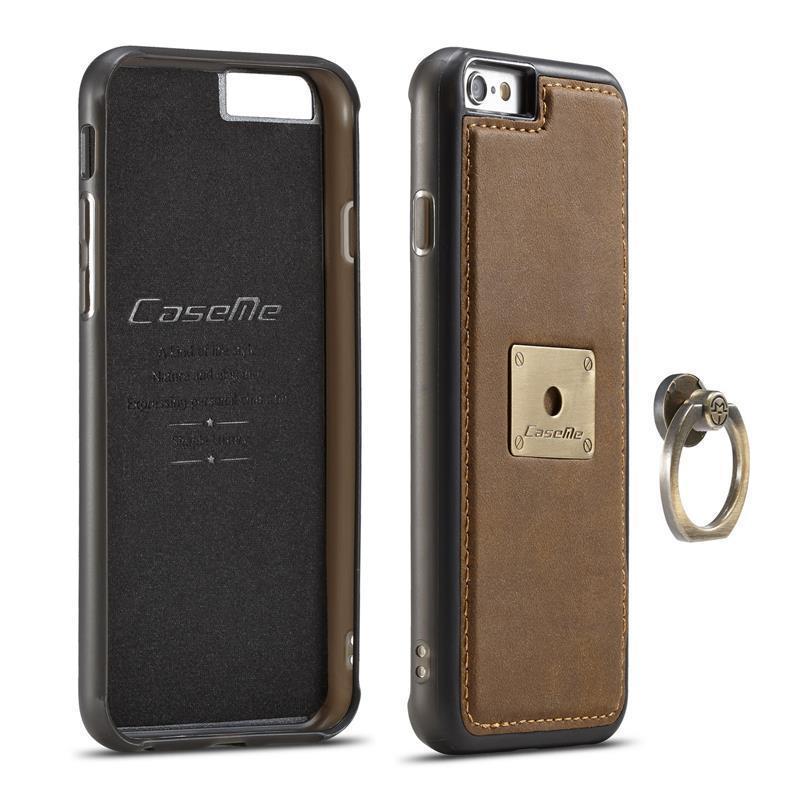 Для IPhone 6 6s чехол Роскошные Подлинная ретро текстуры ретро текстуры кожи чехол безымянного пальца Флип Magnetic крышка
