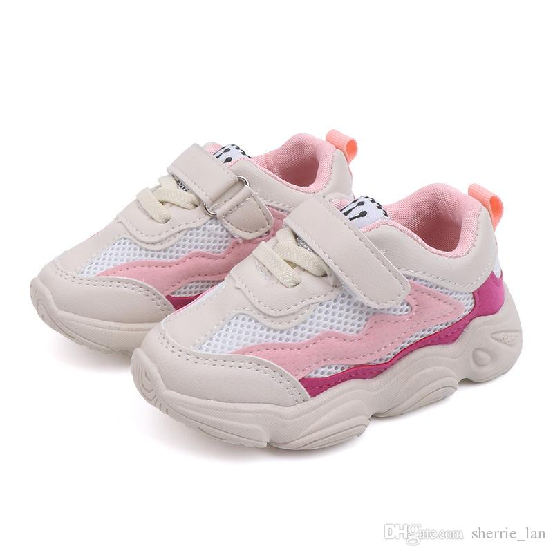 Fashion Baby Girls Boys Mesh Sport Sneakers Shoes Kids Casual Shoes Children Brand Shoes Breathable Girl Chaussure Enfant 1-6 Years Old