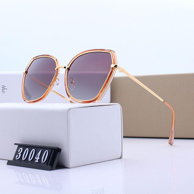 2019 yeni erkekler ve kadınlar polarize renkli film güneş gözlüğü büyük kutu güneş gözlükleri moda trendi büyük yüz ince yüz gözlük D30040 suneyewear
