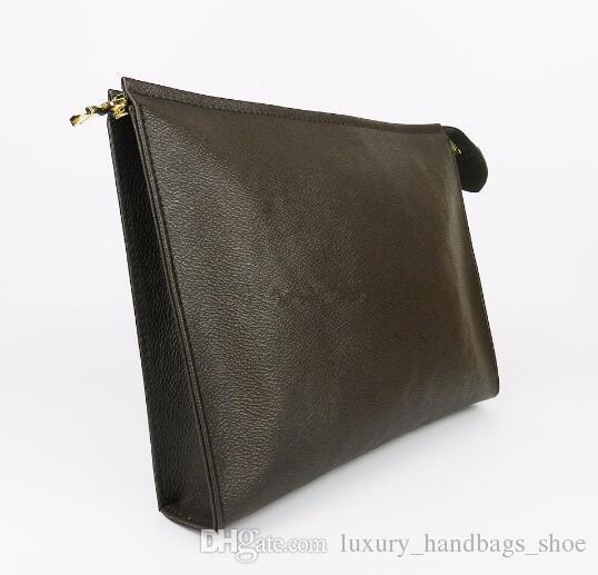 Tasarımcı Cüzdan mektup çiçek Kahve Siyah örgü erkek çantaları kadınların 47542 BOX gel Kozmetik çantası fermuar Tasarımcı çanta cüzdan cüzdan