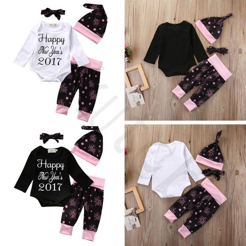 شحن مجاني لطيف الطفل بنات بنين الرضع رومبير BODYSUIT + سروال اللباس وتتسابق مجموعة ملابس