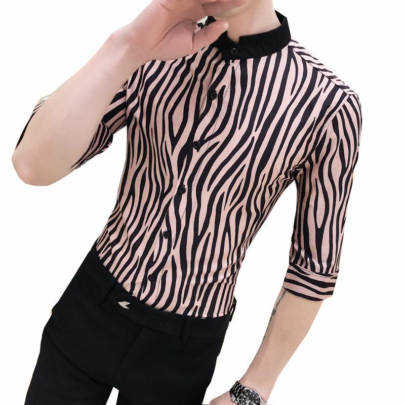 2020 camisa de la manera hombres del verano ponen en cortocircuito las fiestas camisa hawaiana para hombre Camisa Masculina Streetwear impresión Camisas de la playa para los hombres