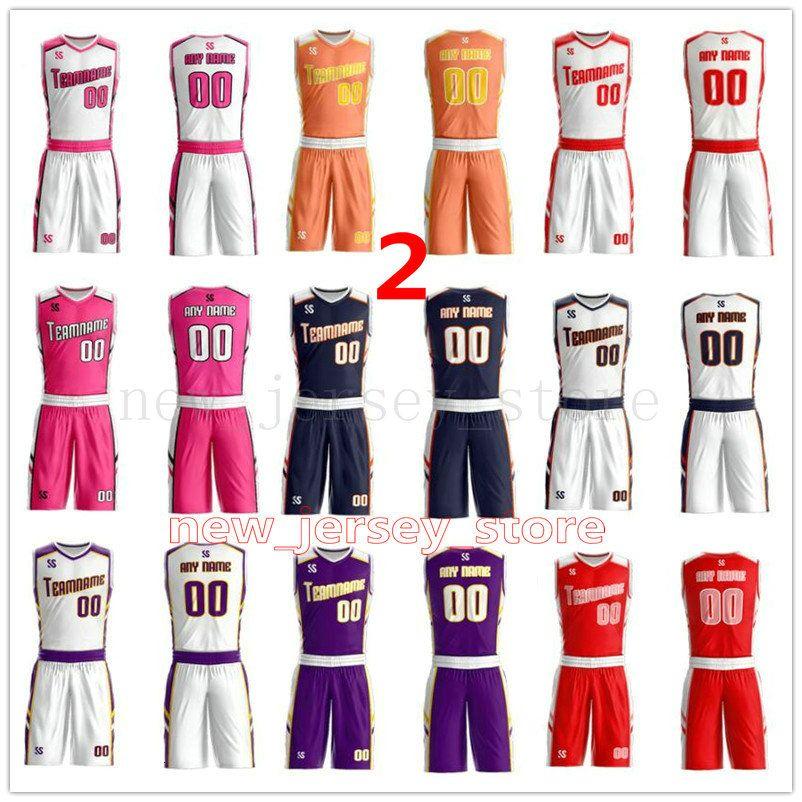 Personalize Qualquer nome de qualquer número homens mulheres Senhora Crianças Jovens Meninos Basketball Jerseys Camisas Sport como as imagens você a oferta ZZ0050