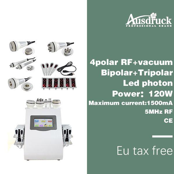Bezpłatny podatek UE Nowy Lipo Laser Ultradźwiękowy Częstotliwość Radiowa Częstotliwość Lasowa Cavable RF Bio Bio Beauty Odchudzanie