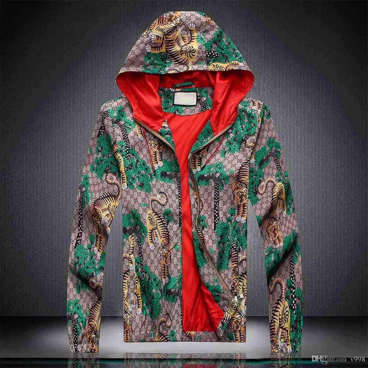 Мужские роскошные дизайнерские куртки с длинным рукавом ветровка ветрозащитная Мужская молния водонепроницаемая куртка лицо север толстовка пальто одежда M-3XL