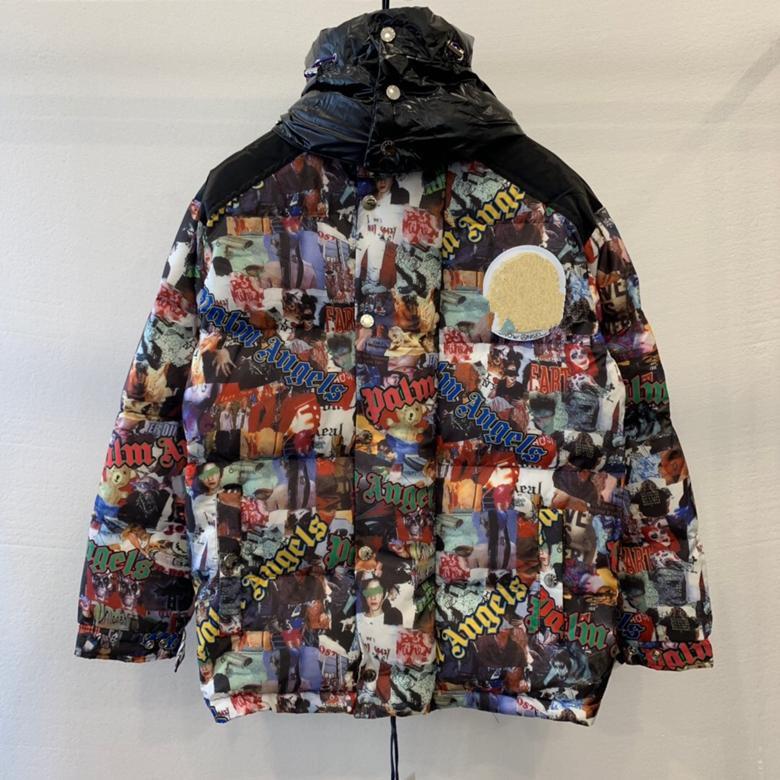 2019 Yeni Tasarımcı Marka Casual Aşağı Ceket Lüks Coat Erkek Açık Sıcak Tüy Man Kış Ceket Dış Giyim Ceketler Kapşonlu Cepler Boyut S-l