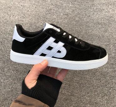 2019Unisex GAZELLE Klasik Casual Düz ayakkabı Süet Sneakers Açık Hafif Erkekler Kadınlar Zapatillas Yürüyüş Yürüyüş Ayakkabı 36-44