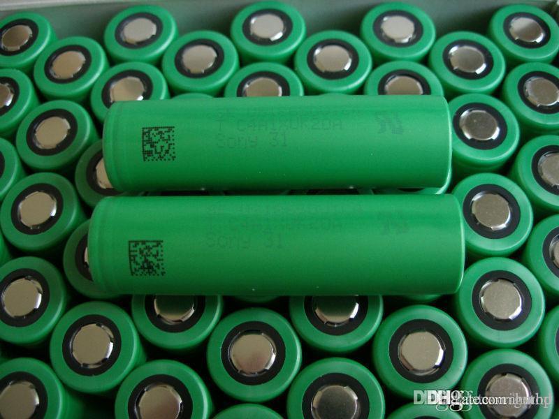 US18650 VTC5 2600mAh VTC4 2100mAh 3.7V Li-ion clone bateria para cigarro e mods Manhattan Rei Nemesis Stingray mecânicos