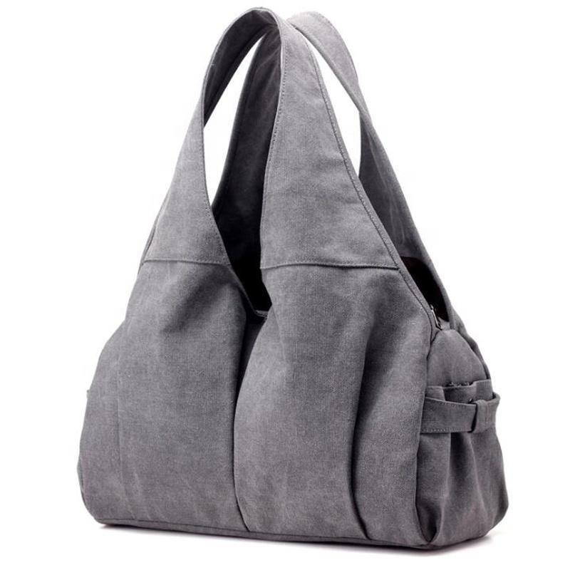 Vintage moda su misura Large Size Viaggi mamma della borsa della tela di canapa del sacchetto di drogheria