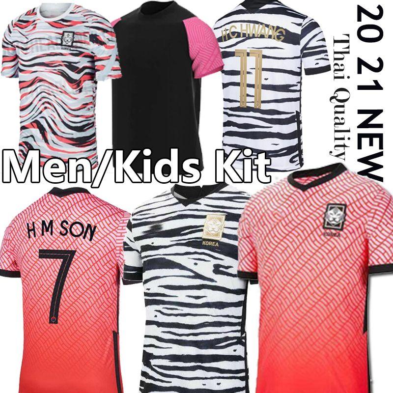 2020 لكرة القدم في جنوب بالقميص SHIRTS كوريا SON FOOTBALL 20 21 جنوب JERSEY كوريا هيونغ KIM LEE KIM HO SON الرجال مخصصة للأطفال