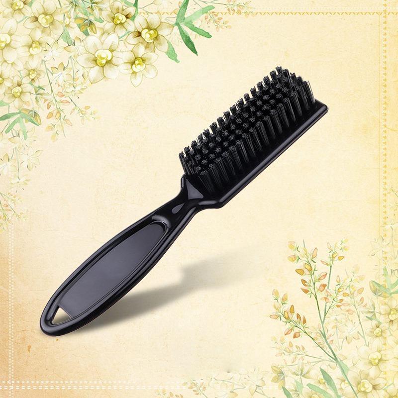 Poignée noire professionnelle Outils de cheveux Hommes Femmes peigne brosse de nettoyage Salon de coiffure Sweep salon de coiffure outil Accessoires de cheveux