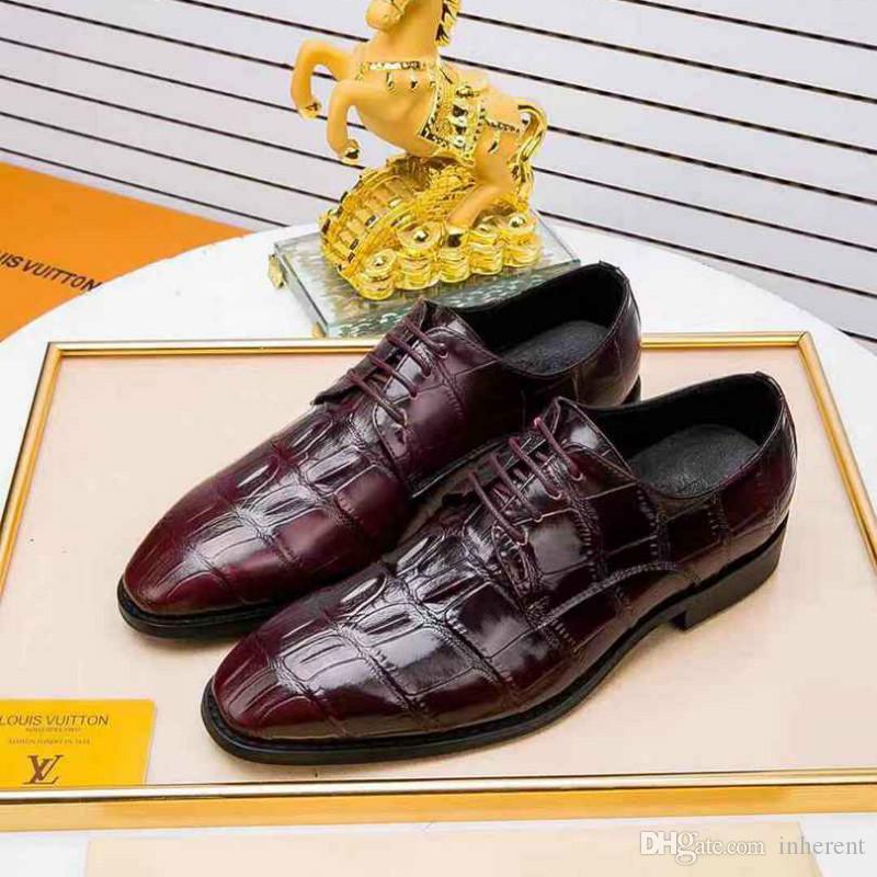 estilo urbano clássico rendas sapatos casuais de alta qualidade simples moda sapatos vestido sapatos celebração de banquetes dos homens