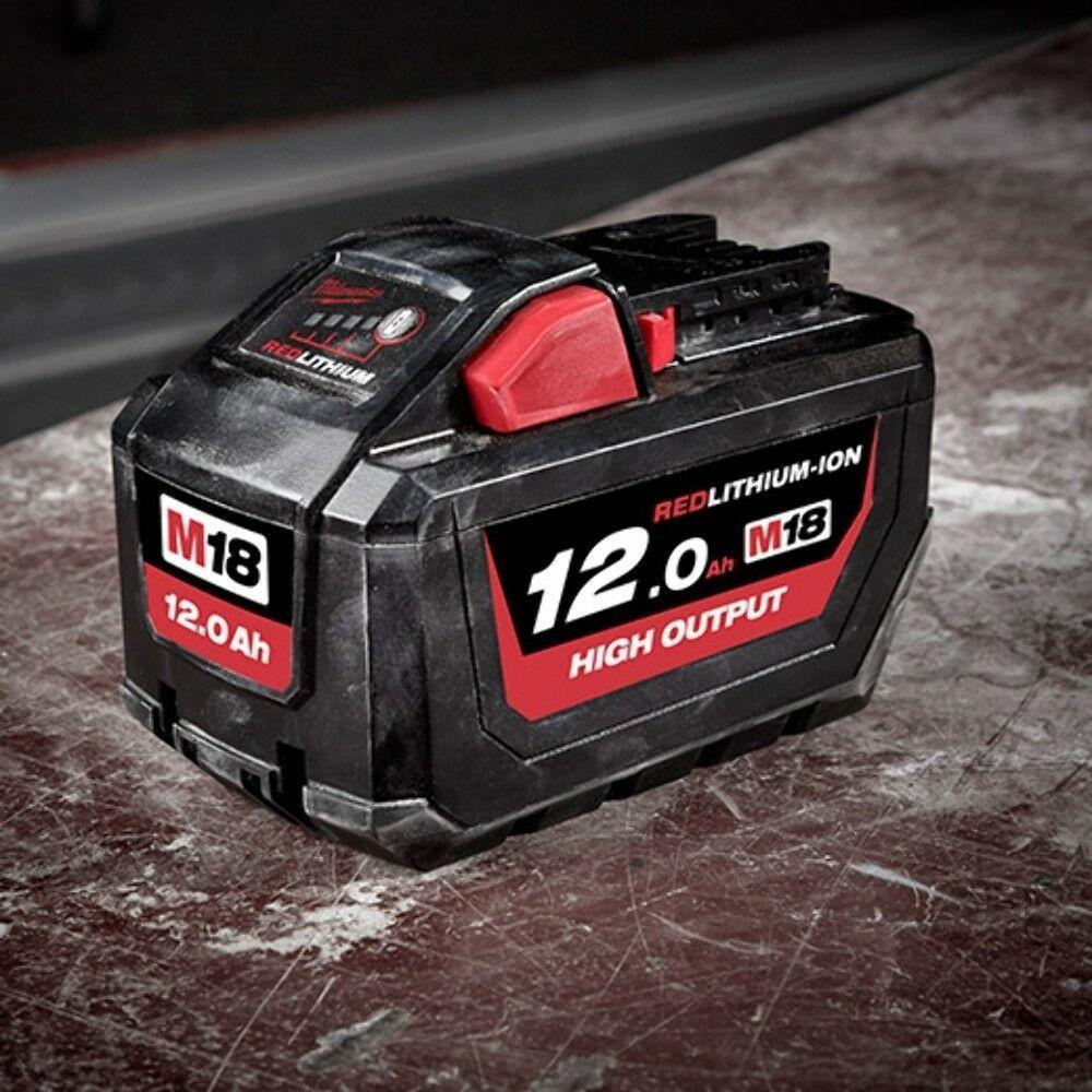 m18hb12/High Output 12.0/Ah Bater/ía de 18/V