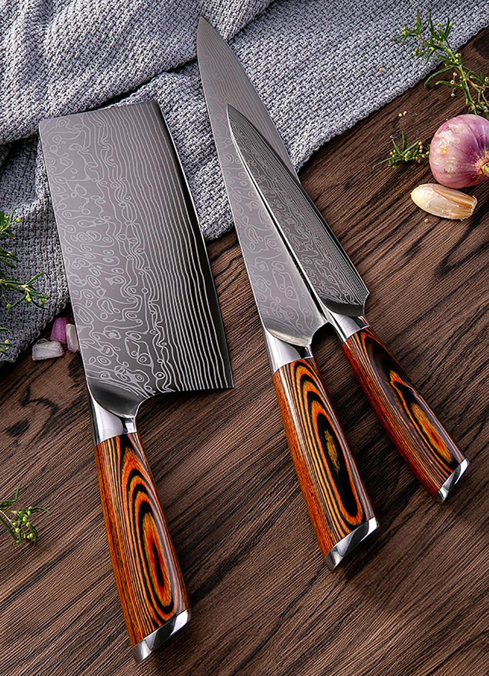 Quality Kitchen Knife Set Damascus Japanese Kitchen Sushi Knives Meat Cleaver Sharp Kitchen Knife Cooking Knife 8 Inch Color Wood Handle Large Kitchen Knives Names Of Kitchen Knives From Georgestore 89 56 Dhgate Com