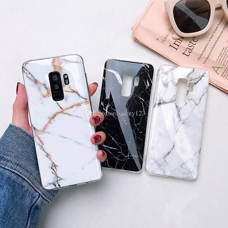 Stilvolle weiche TPU Abdeckung Telefon-Marmor-Kasten für Samsung Galaxy A31 A41 A50 A51 A71 S10 Plus-S20 FE Hinweis 10/20 Ultra-