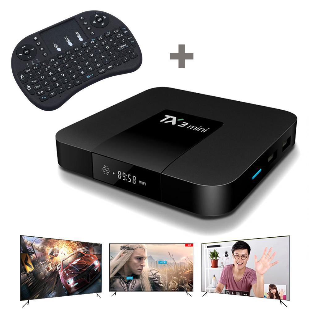 الأصلي TX3 MINI 1GB 8GB 2GB 16GB الروبوت 7.1 TV صندوق AMLogic نوع S905W مع دعم لوحة المفاتيح 4K فائقة التلفزيون الذكية ميديا بلاير