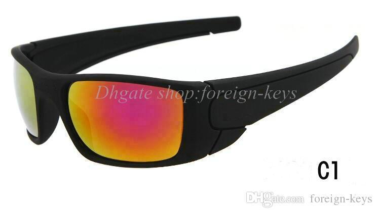 1pcs neu für Mannfrauen Sonnenbrillen mit Kasten im Freiensport-Sonnenbrille viele Farben Google-Gläser geben Verschiffen frei.
