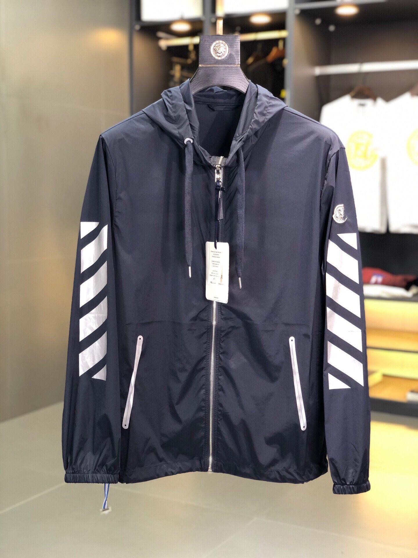 Mode M Mensentwerfer Jacken Männer Qualität Hoodie vermeiden Sonnenlicht Designer-Jacke Langarm-Herren Mantel Luxus-Designer-Kleidung