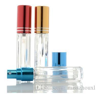 3ml Boş Yarı saydamlık cam Sprey Şişe Makyaj Parfüm Atomizer Doldurulabilir şişeler Cam şişe hızlı sevkiyat