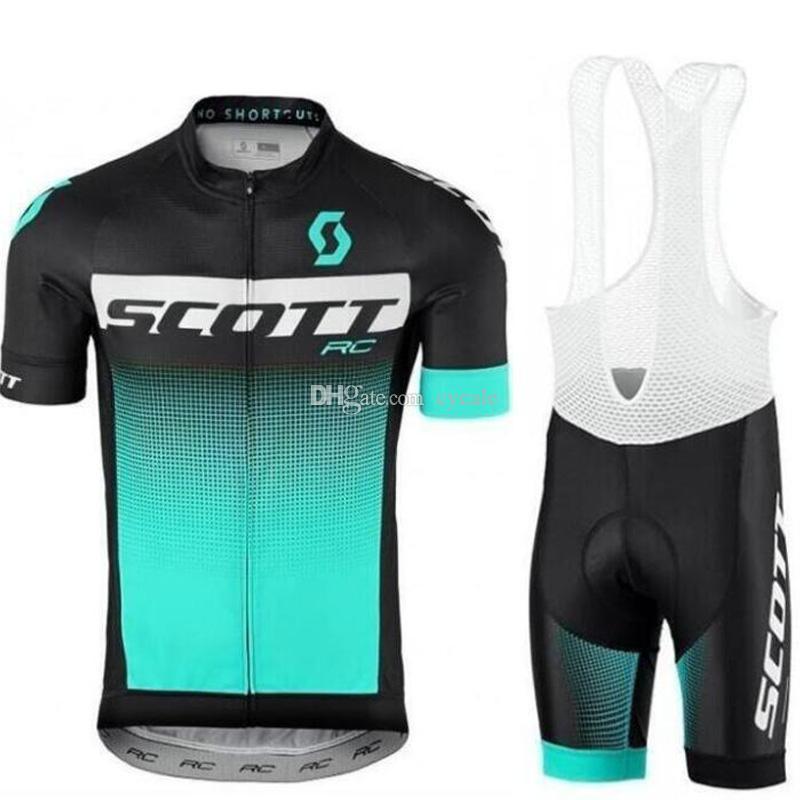 Mens Women Cycling Bib Short Jersey Team Racing Summer Bicycle Top//Bottom Kit