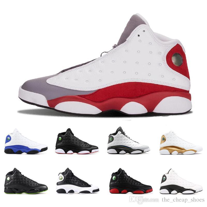 13 zapatillas de baloncesto para hombre 13s Phantom Hyper Real, Italia, Azul Burdeos Pedernales Chicago Bred Tamaño DMP trigo oliva Marfil Negro retro del gato 7-13