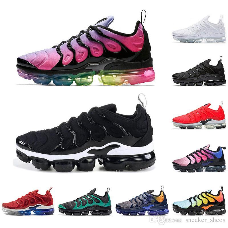 Nike Vapormax plus tn Çorap ileVapormaxArtı TN Kadın Erkek BETRUE Üçlü Siyah Oyun Kraliyet Nefes Erkek Trainer Spor Spor Ayakkabılar için Ayakkabı Koşu