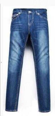 Nouveau jeans True élastique Hommes Revival Jeans Denim Pantalons Cristal Goujons Designer Pantalon taille hommes 30-40
