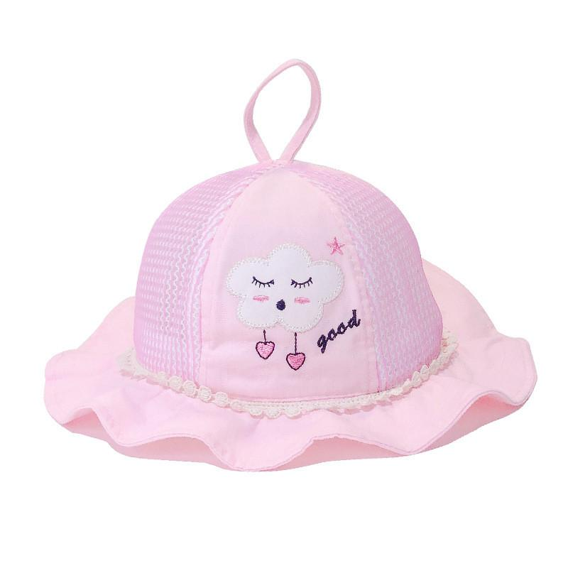 Cartoon Clouds breathable Bucket Hat Fisherman Hat outdoor travel hat Sun Cap Hats for Children boys and girls 41