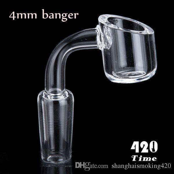 Quartz banger 14 mm mâle bangerl en quartz fabriqué à partir de vrai quartz, élément à 99,99% de silicium