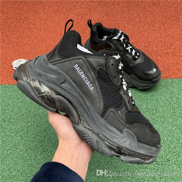 2020 2019 Triple S Clear Sole Trainers