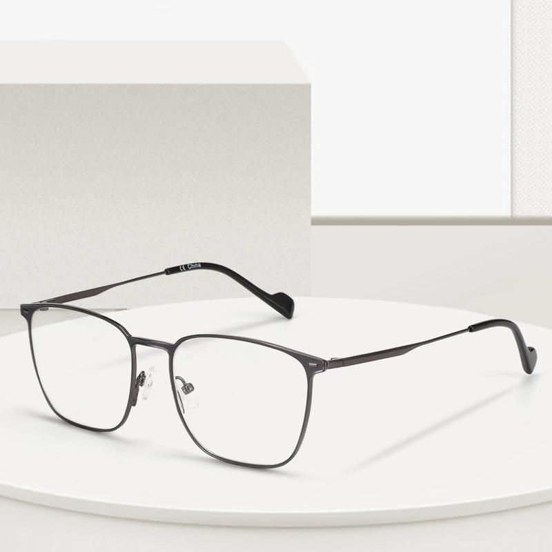 Erkekler Kadınlar Okuma Miyop Göz Cam Reçete Gözlükler Optik Tam Çerçeveler Gözlük T200428 için BLUEMOKY Titanyum Alaşım Gözlük Çerçevesi
